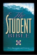 NIV Student Bible Forest Green Indexed Bonded Leather