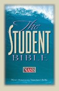 NASB Updated Edition Student Bible Black Bonded Leather
