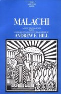 Anchor: Malachi (#25D in Anchor Bible Commentaries Series) Hardback