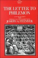 The Anchor: Letter to Philemon (#34C in Anchor Bible Commentaries Series) Hardback