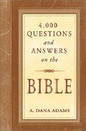4000 Questions and Answers on the Bible Hardback