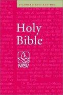 NRSV Standard Text Edition Burgundy