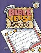 Favorite Bible Verse Activities (Reproducible)