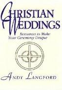 Christian Weddings Paperback