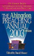 Abingdon Preaching Annual 2004 CDROM Win Mac Cd-rom