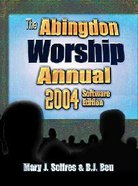 Abingdon Worship Annual 2004 CDROM For Windows Cd-rom