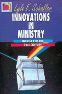 Innovations in Ministry Paperback