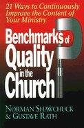 Benchmarks of Quality in the Church Paperback