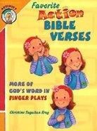 Favorite Action Bible Verses Hardback