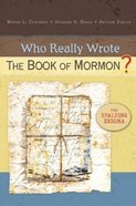 Who Really Wrote the Book of Mormon? Paperback