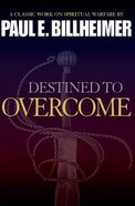 Destined to Overcome Paperback