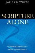 Scripture Alone Paperback