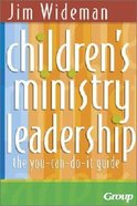 Childrens Ministry Leadership