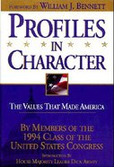 Profiles in Character Hardback