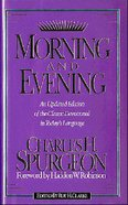Morning and Evening (Nkjv) Hardback