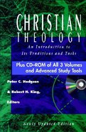 Christian Theology Set With CDROM (Christian Theology Series)