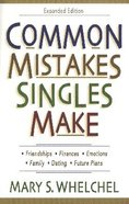 Common Mistakes Singles Make Paperback