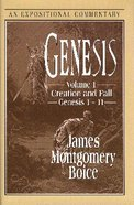 Expositional Commentary: Genesis (3 Vol Set) Hardback