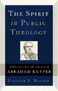 The Spirit in Public Theology Paperback