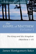 Gospel of Matthew (Volume 1) (Expositional Commentary Series) Paperback