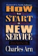 How to Start a New Service Paperback