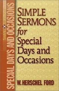 Simple Sermons For Special Days and Occasions Paperback