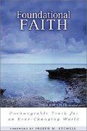 Foundational Faith Paperback
