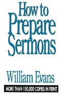 How to Prepare Sermons Hardback