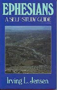 Self Study Guide Ephesians (Self-study Guide Series) Paperback