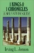 Self Study Guide 1 Kings & 1 Chronicles (Self-study Guide Series) Paperback