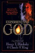 Experiencing God (Large Print) Paperback