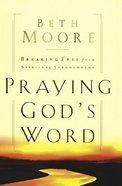 Praying God's Word (Large Print)