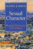 Sexual Character Paperback