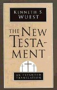 The New Testament (Expanded Translation) Paperback