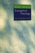 Evangelical Theology Paperback