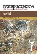 Ezekiel (Interpretation Bible Commentaries Series) Hardback