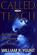 Called to Teach Paperback