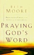 Praying God's Word Hardback