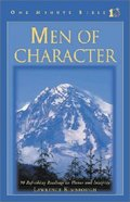 Men of Character (One Minute Bible Series) Hardback