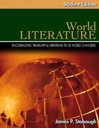 World Literature Student Edition (Senior High Level) Paperback