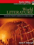 World Literature Teacher Edition (Senior High Level) Paperback