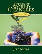 Secrets of World Changers (Cd/dvd Set) Pack