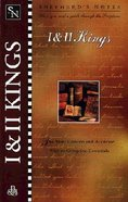 1 & 2 Kings (Shepherds Notes Series)