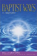 Baptist Ways Paperback