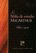 La Biblia De Estudio Macarthur Indexed (Macarthur Study Bible) Hardback