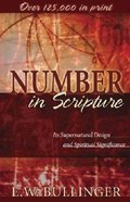 Number in Scripture Paperback
