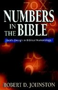 Numbers in the Bible Paperback