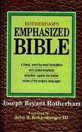 Rotherham's Emphasized Bible Hardback