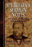 Spurgeon's Sermon Notes Paperback