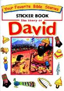 Bible Story Sticker Book: David Paperback